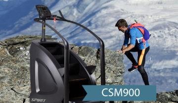 Stairclimber CSM900 — больше, чем просто степпер