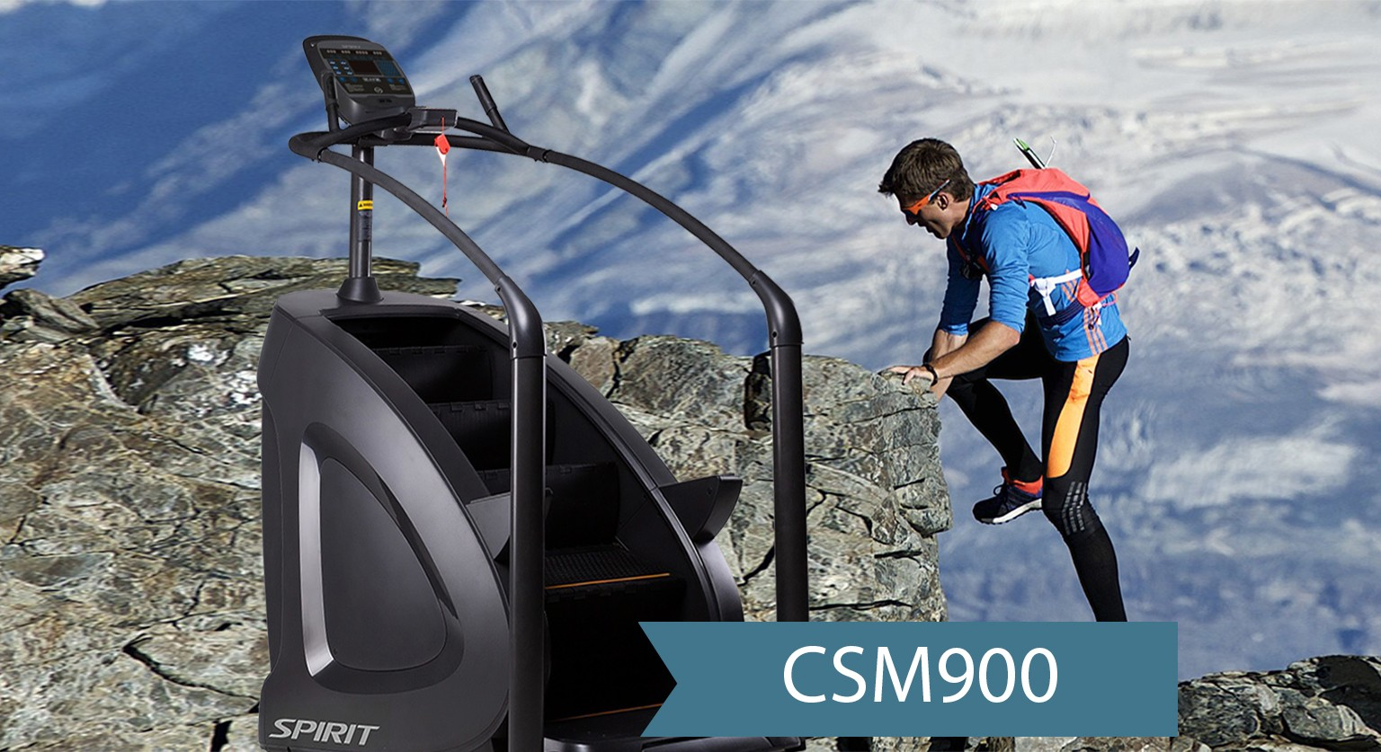 Лестница-степпер Spirit Stairclimber CSM900