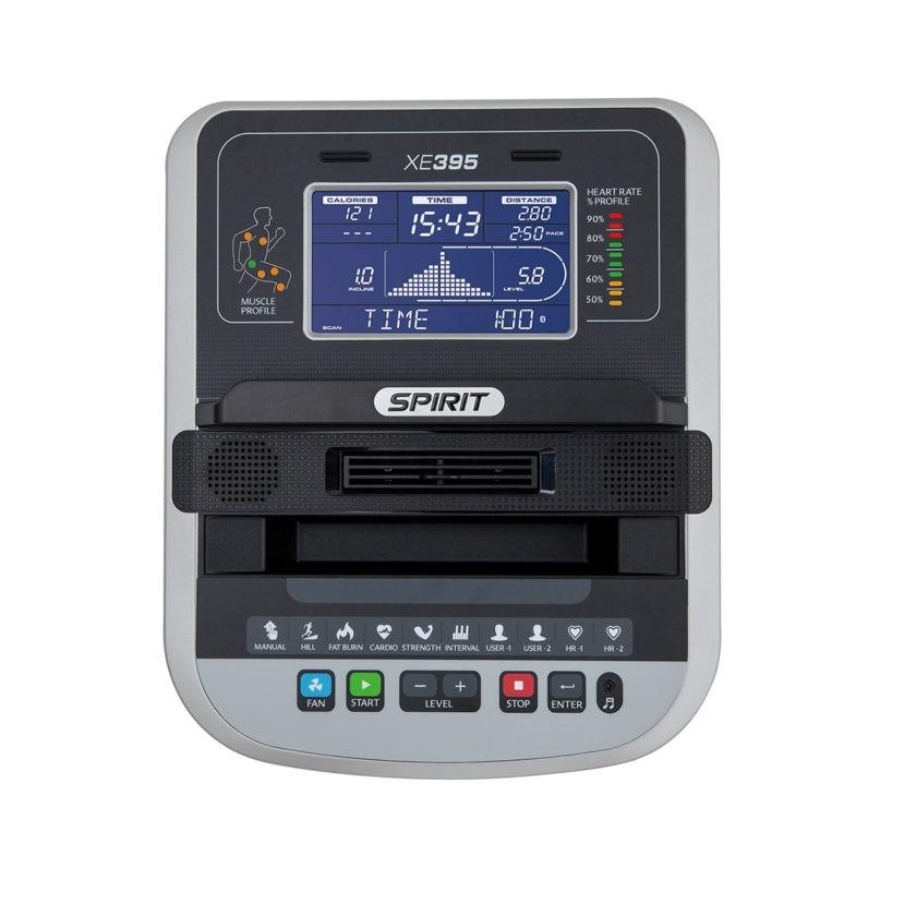 Эллиптический тренажер SPIRIT XE395