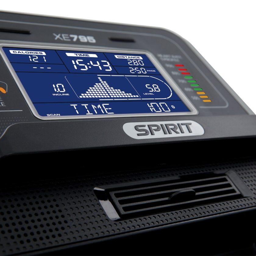Эллиптический тренажер SPIRIT XE795