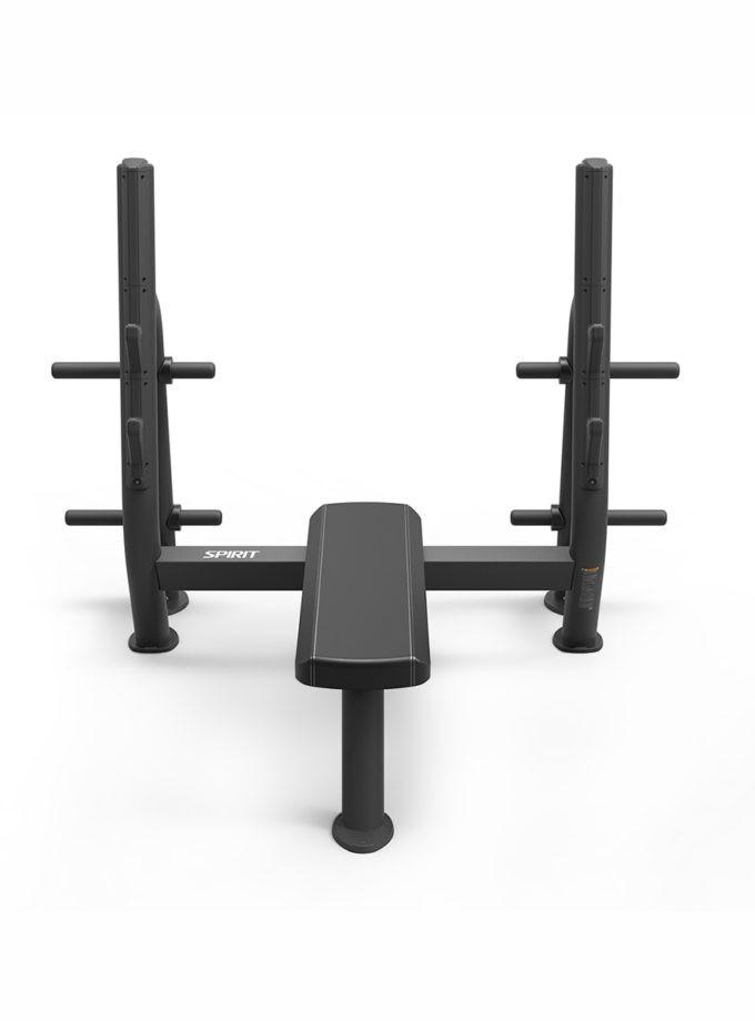 Олимпийская скамья горизонтальная SP-4209